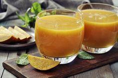 Smoothie de mango, naranja y cambur | Informe21.com #Food #Comida #Photography #Receta