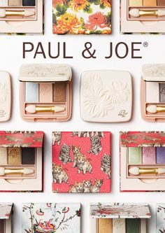 PAUL & JOE My Secret Garden Collection - cutest packaging!