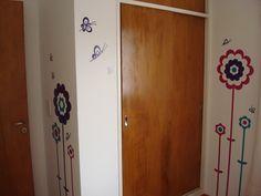 Vinilos cuarto de nena Tall Cabinet Storage, Locker Storage, Lockers, Furniture, Home Decor, Decoration Home, Room Decor, Home Furniture, Closets