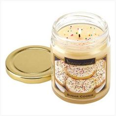 Sugar Cookie Scented Candle