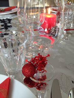 My xmas table decorations