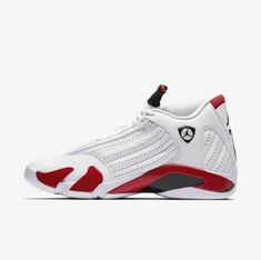 best service e61af 4050a (eBay Sponsored) NIKE AIR JORDAN 14 XIV RETRO CANDY CANE RIP HAMILTON WHITE  RED 487471-100 MENS