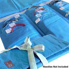 della Q Tri-Fold Knitting Case for Circular Knitting Needles