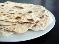 Lefse (Norwegian Flatbread) Yummy spread with butter and sprinkled with sugar!
