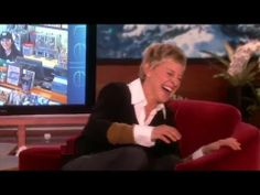 Favorite Moments: Making Ellen Laugh on The Ellen Show love watching you laugh