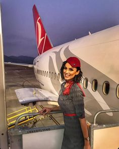 Find out the status of the flight on Flyings. See the flight schedule, as well as track the flight online. Flight Attendant Hot, Emirates Cabin Crew, Airline Cabin Crew, Flight Schedule, Flight Status, Airline Uniforms, Turkish Airlines, Cheap Tickets, Commercial Aircraft