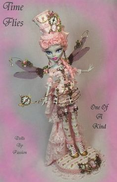 Monster High Steampunk Fairy Collector Doll by Dolls by Passion - My nieces would absolutely love this doll