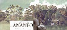 Ananbô: Papier peint panoramique Ananbô La Collection 2015...