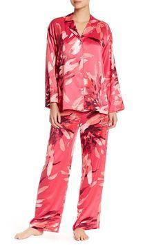 7d90b0e5165de Natori Dahli Printed Pj Set Small Pajamas Womens Pjs New NWT | eBay