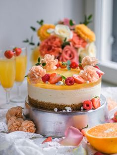 Most Delicious Recipe, Delicious Cake Recipes, Yummy Cakes, Dessert Recipes, Desserts, Decadent Cakes, Cake Craft, Just Eat It, Cake Fillings
