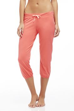 I really like the color and fabric of these capris