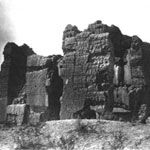 Casa Grande Ruins One of the earliest photographs of the Great House