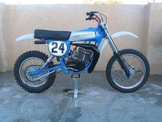 (1978) Hercules 250MX Dirt Bike.