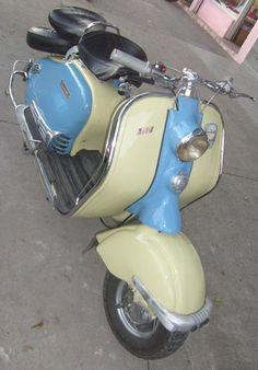 moto lambretta 150