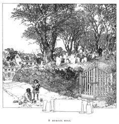 Landscape Drawing - Franklin Booth