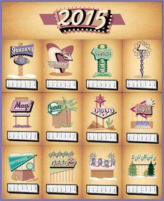 #googiestyle #illustration #calendar #2015 L&R Illustration round 5 L's calendar www.leftrightfight.com Googie, Calendar, Illustration, Projects, Style, Log Projects, Swag, Blue Prints, Illustrations