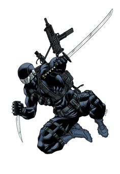 Snake Eyes Promo colors by *RobertAtkins on deviantART