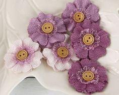 Prima Fabric Flowers: Faience Jorie Blue fabric Flowers by Hennytj