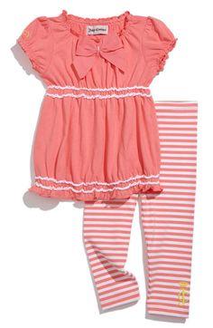Juicy Couture Tunic & Leggings Set (Infant)