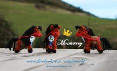 Amigurumi de un caballo llamado Monterrey. Todo un campeón.  www.facebook.com/vasniworld