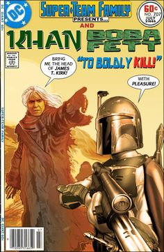 Super-Team Family: The Lost Issues!: Khan and Boba Fett