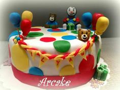 tchoupi cake