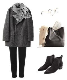 """sad and windy"" by bluejulien ❤ liked on Polyvore featuring Topshop, Filippa K and Acne Studios"
