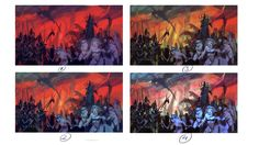 ArtStation - Total War: Warhammer 2-Dark Elves, Diego Gisbert Llorens