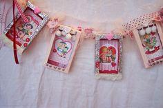Winter Bella Valentine's Banner by littlejunkshop, via Flickr
