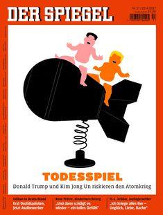 The illustrator of famous Donald Trump Der Spiegel and Time cover artworks - Digital Arts