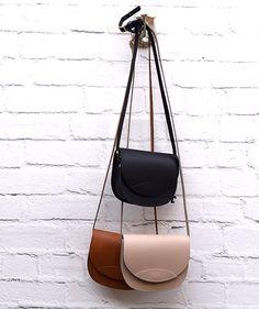 Nude Crossbody Oval Bag Boxing Day Sale Handmade Leather Bag