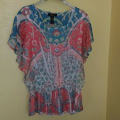 Style&CO Top Style&CO Top .Shell: 100 % Polyester Lining : 100 % Polyester Style&CO Tops Blouses