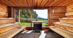 Gesundes Schwitzen in unserer Saunalandschaft - Naturhotel Die Waldruhe - Kiens - Pustertal - Südtirol