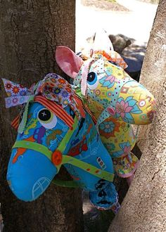 Giddyup Hobby Horse Pattern by braidcraft on Etsy, $13.50