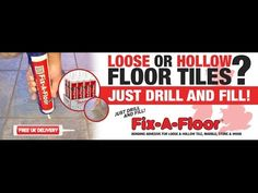 How to fix loose and hollow tiles - Don't remove or replace, Just drill ...