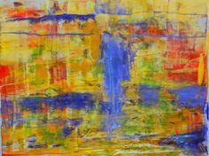 "Saatchi Online Artist: Aida Markiw; Acrylic, 2012, Painting ""Iris Petals"""
