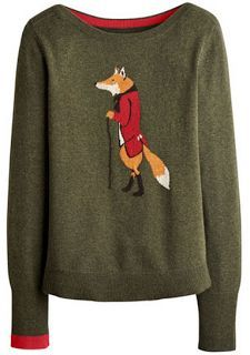 93ca7e10d19 Joules Crazy like a Fox Sweater - I m in love with all their Foxy stuff!
