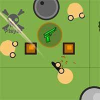 Surviv (IO) is a massive online 2D Battle Royale Enter the