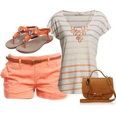 Fashion #outfit for summer