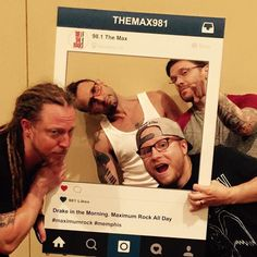 #Shinedown at Landers Center (Photo via 98.1 The Max) #ZachMyers #BrentSmith #EricBass #BarryKerch