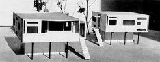 Fondation Le Corbusier - Projets - Maisons rurales