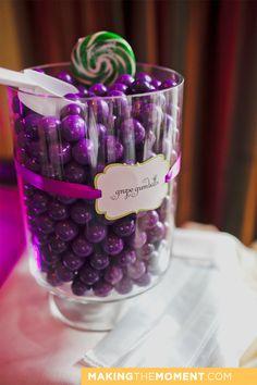 wedding candy bar - jar labels!
