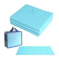 Khataland YoFoMat Yoga Mat Ultra Thick Extra Long - Sky Blue (6mm)