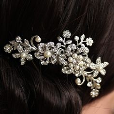 This was my hair comb for our wedding.