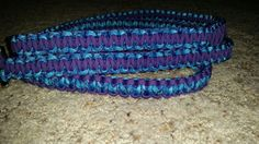 6 foot purple and blue dog leash.