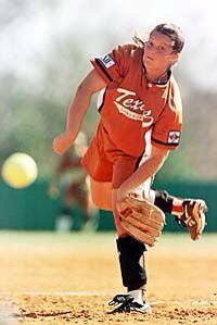 blaire luna great pitcher for texas something about