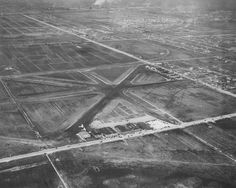 """Midway Airport -- technically """"Chicago Midway International Airport"""" -- in 1929."""