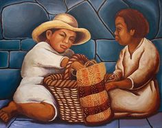 "Los niños del gran muralista Diego Rivera ""Me enseñaron"" Laura Zambrano Padilla Diego Rivera Art, Diego Rivera Frida Kahlo, Frida And Diego, Latin Artists, Mexican Artists, Restaurant Mexicano, South American Art, Spanish Painters, Political Art"