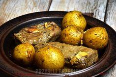 Comber jagnięcy bez kości, pieczony Pot Roast, Ethnic Recipes, Food, Carne Asada, Roast Beef, Essen, Meals, Yemek, Eten