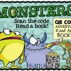 Directions: Use+these+QR+Codes+to+enhance+reading+time,+literacy+stations,+and+reading+centers.++Each+QR+Code+is+a+direct+link+to+14+MONSTER+THEMED...